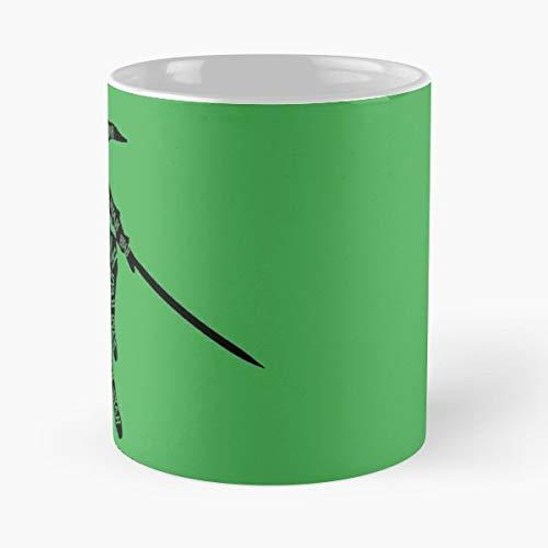Sheikah Slate Legend Of Zelda Link Hyah - Morning Coffee Mug Ceramic Novelty, Funny Gift