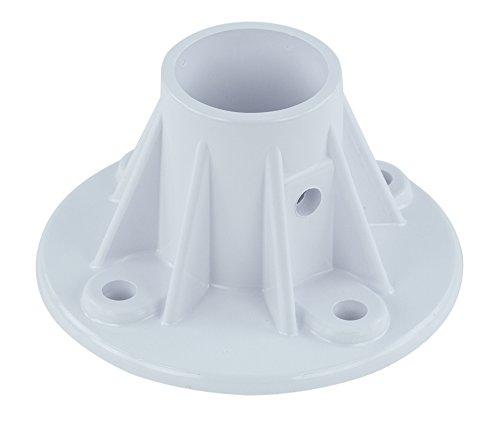 Perma Cast Slide Deck Flange Plastic Flanges | 1 Pack (Deck Anchor Flange)