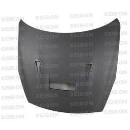- Seibon 2009-2010 NISSAN SKYLINE R35 GT-R VSII-DRY Carbon Fiber Hood (HD0910NSGTR-VSII-DRY )