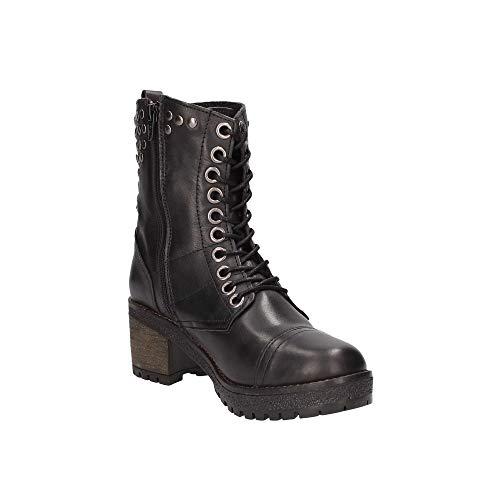 Donna 66489 Nero Boot Carmela 38 qa8vXwwx