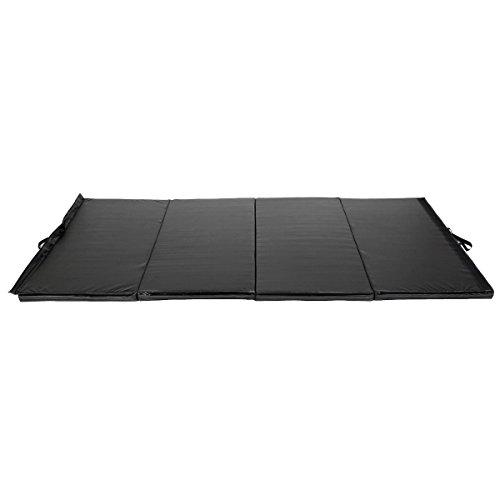 COSTWAY 4′ x 8′ x 2″ Folding Panel Exercise Gymnastics Mat