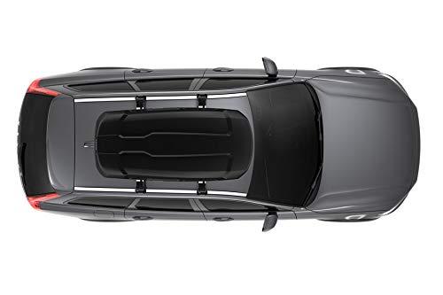 THULE 635200 Coffre de Toit Voiture Force XT M Rigide capacit/é de 400 litres-Noir Mat