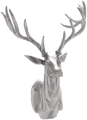 Deco 79 27526 Aluminium Trophy Head, 17 by 23