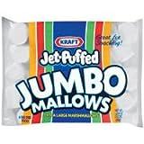 Jet Puffed Jumbo Marshmallow Snack, 24 Ounce - 8 per case.