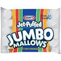 Jet Puffed Jumbo Marshmallow Snack, 24 Ounce -- 8 per case. by Kraft
