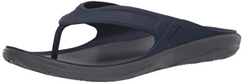 Crocs Men's Swiftwater Wave Flip Flops Shower Shoes