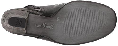 Paul Donne Di Verde Salice Sandalo In Pelle Nera