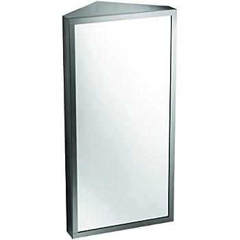 High Quality Brushed Stainless Steel Medicine Cabinet Corner Wall Mount | Renovatoru0027s  Supply