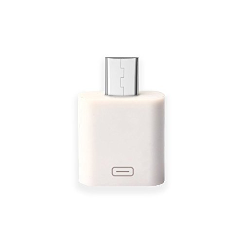 Lanyos 8-Pin lightning Female to Micro USB male adapter conv