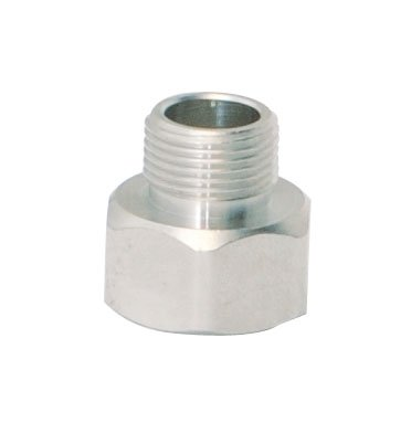 Ez-Flo 95063 Female Compression x Male Compression Adapter 1/2' Female Comp x 3/8' Male Comp -