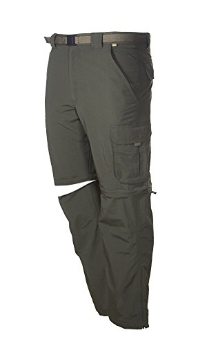 zip off cargo pants men - 8