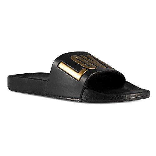- Fresko Shoes Ladies Slide Sandals – Love Print, Water Shoes for Beach, Pool