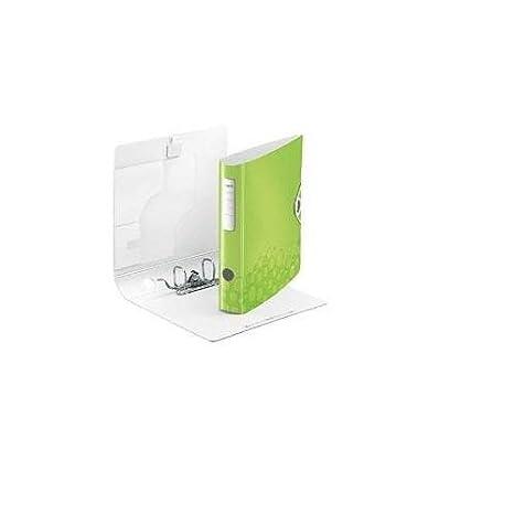 Leitz 939005 - Archivador A4, 65 mm, ventana derecha: Amazon.es: Oficina y papelería