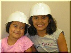 Children's Hard Hat - White