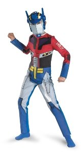 Transformers Animated Optimus Prime Quality Halloween Costume - Size 7-8