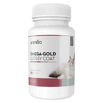 Animigo Omega Pelaje Brillante 90 Comprimidos Masticables para la Piel y el Pelaje de Perros y