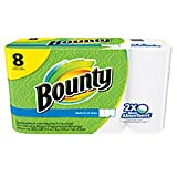 """Bounty 95005 Select-A-Size Perforated Roll Towel, 11"""" width, 5.9"""" Length, White, 11"""" width (Pack of 504)"""