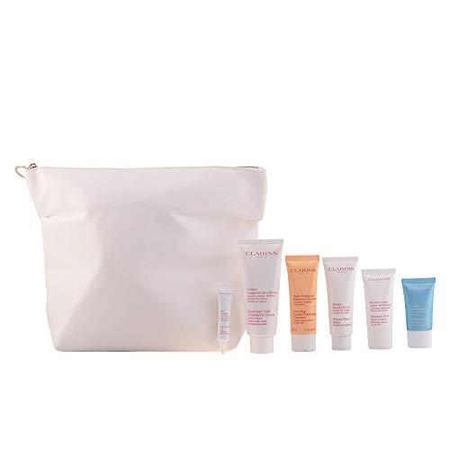 Clarins Belle De La Tete Aux Pieds Gorgeous Getaways 6 Pack With Makeup Bag