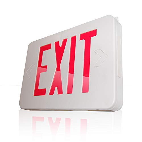 eTopLighting LED Exit Sign Emergency Light Lighting Emergency LED Light/Battery Back-up/Red Letter, AGG745 ()