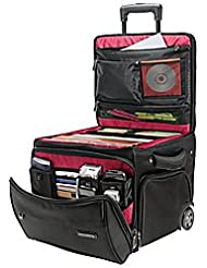 Ativa Mobil-IT Rolling Briefcase Ultimate Workmate, 14H x 14.25W x 14.25D, Black