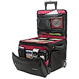 Ativa Mobil-IT Rolling Briefcase Ultimate Workmate, 14''H x 14.25''W x 14.25''D, Black