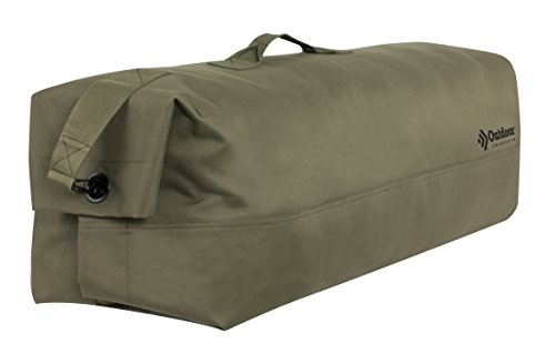 Outdoor Products GI Canvas Duffle Bag, 104.9-Liter Storage, (Outdoor Products Duffle Bag)