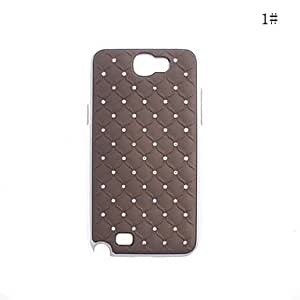 Nsaneoo - Fashionable Plastic Zircon Starry Pattern Hard Case for Sansung N7100(Assorted Colors) , 4