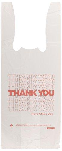 Barnes Paper Company 6415THYOU Plastic Thank You T-Sacks,...