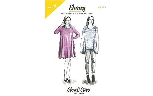 Closet Case Patterns Closet Case Ebony Dress & T-Shirt Ptrn