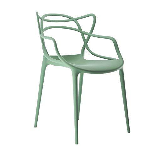 Kartell, Sedia Masters, Colore: Verde