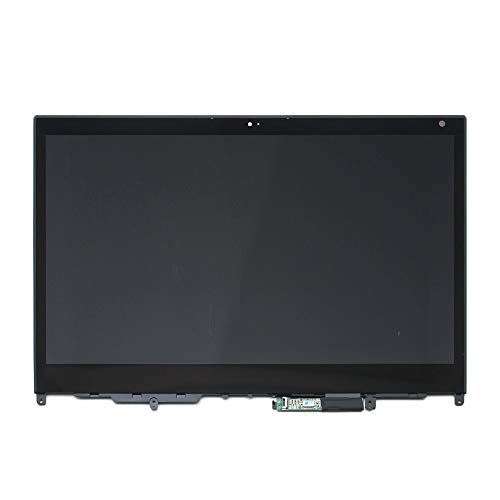 LCDOLED Compatible 13.3 inch FullHD 1920x1080 IPS LCD Display Touch Screen Digitizer Assembly + Bezel + Touch Control Board Replacement for Lenovo ThinkPad Yoga 370 20JH0029US 20JH002AUS 20JH002BUS