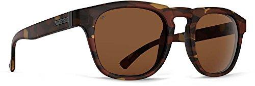 VonZipper Adults Banner Polarized Sunglasses, Tobacco Tortoise Gloss/Wild Bronze Polarized Lens One Size