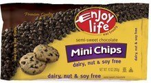 Enjoy Life Foods Semi-Sweet Chocolate Chips Gluten Free (3x10 OZ) by Enjoy Life Foods