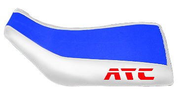 Honda ATC 250SX Blue White Logo Seat Cover