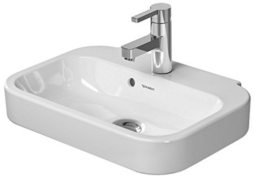 50 Cm Basin (Duravit 0709500000 50 cm Happy D.2 Handrinse Basin, White)
