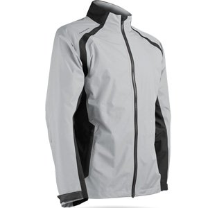Sun Mountain Cumulus Golf Jacket 2018 - Platinum Black (XL) ()