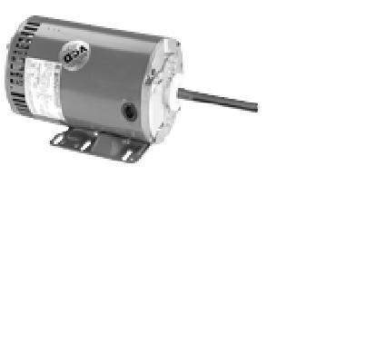 Marathon X523 Condenser Fan/Heat Pump Motor, 3 Phase, 1 1/2 hp, 1140 rpm, 208-230/460V, 5.45-5.4/2.7 amp