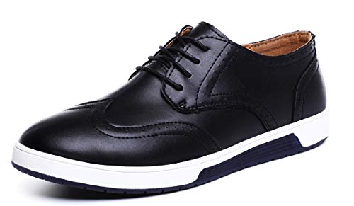Sanyge Men's Urban Dress Shoes Leather Oxford Shoes Lace Up Classic Workout - Leather Classic Oxford