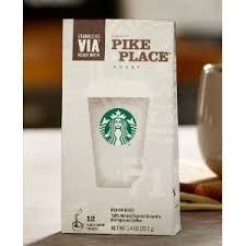 Starbucks VIA Apt Brew Pike Place Roast Coffee 12 Count