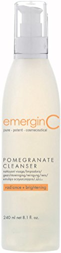 Antioxidant Skin Products Care Cleanser (emerginC - Pomegranate Gel Cleanser, 240ml / 8.1oz)