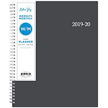 Amazon.com : Blue Sky 2019-2020 Academic Year Weekly ...