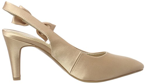 S Abierto De champagner Zapatos 29600 Mujer Talón Para oliver Beige rBqXatwr