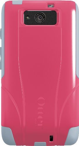 OtterBox Commuter Series Case for Motorola DROID MAXX - Retail Packaging - Pink/Gray
