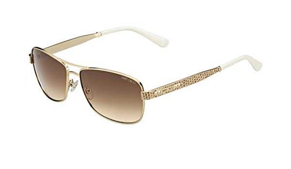 17e9caad8efa Amazon.com  Jimmy Choo Sunglasses - Cris S   Frame  Light Gold Lens  Brown  gradient-CrisS03YG  Shoes