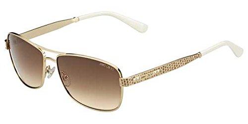 Jimmy Choo Sunglasses - Cris/S / Frame: Light Gold Lens: Brown - Aviators Jimmy Choo