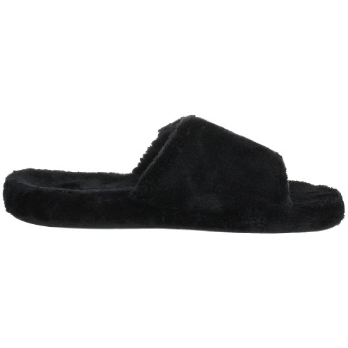 Men's Black Acorn Spa Slide Slipper Agwqd4TY