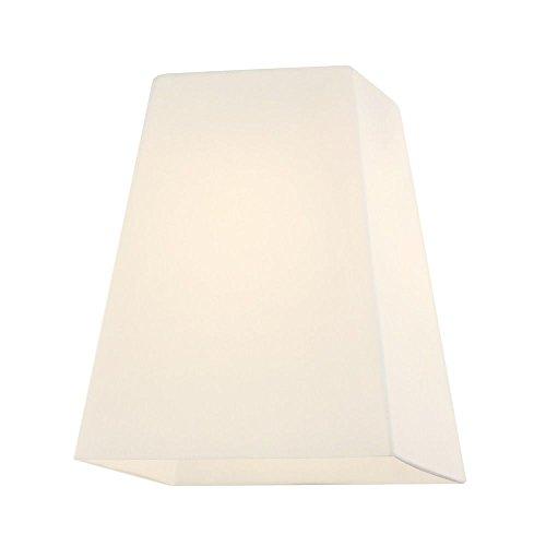 Square White Glass Shade 1-5/8-Inch -