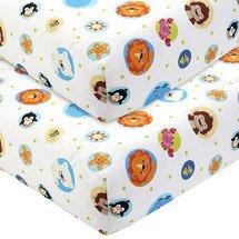 Fisher Price - Precious Planet 2-Pack Crib Sheet Set