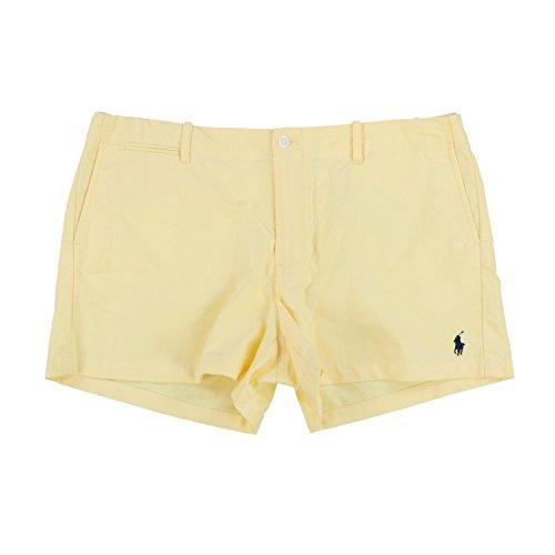 Polo Ralph Lauren Womens Oxford Shorts (12, Yellow)