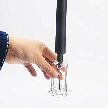 Sacacorchos Tubo De Plástico Tipo De Presión De Aire Abrebotellas De Vino Tipo De Pasador De Acero Inoxidable Bombas De Botella Sacacorchos Corcho Presión De Vacío Estable